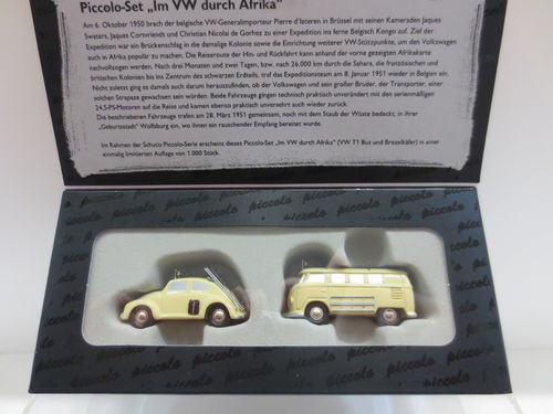 Set VW durch Afrika